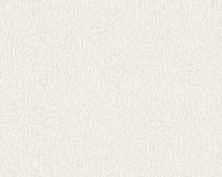 A.S. Création Wallpaper «Uni, Metallic, White» 324782