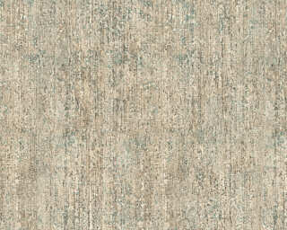 A.S. Création Wallpaper «Uni, Beige, Blue, Copper, Metallic» 325241