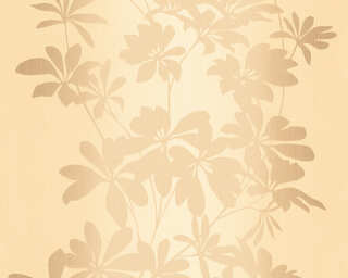 A.S. Création Wallpaper «Floral, Bronze, Brown, Metallic, Yellow» 325846