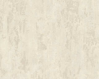 A.S. Création Wallpaper «Concrete, Beige, Cream, Metallic» 326514