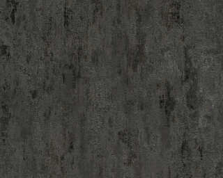 A.S. Création Wallpaper «Uni, Black, Grey, Metallic» 326515