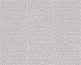 Lutèce Обои «Графика, Металлик, Серыe» 326574