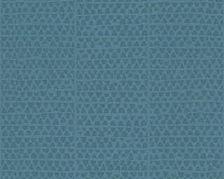 Lutèce Обои «Графика, Металлик, Синие» 326575