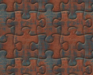 A.S. Création Wallpaper «Graphics, 3D, Brown, Grey, Metallic» 327031