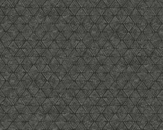 Lutèce Обои «Графика, Металлик, Черные» 327101