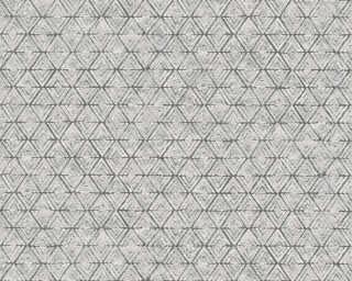 Lutèce Обои «Графика, Металлик, Серыe, Черные» 327103