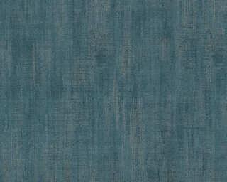 Lutèce Обои «Уни, Металлик, Синие» 327122