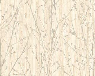 A.S. Création non-woven wallpaper «Floral, Beige, Cream» 327131