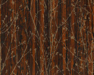 A.S. Création Wallpaper «Wood, Brown» 327132