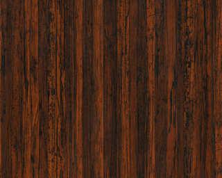 A.S. Création non-woven wallpaper «Uni, Brown» 327142