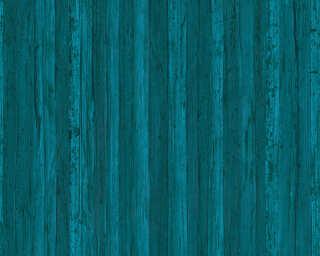 A.S. Création non-woven wallpaper «Uni, Blue» 327145