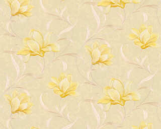 ORIGINALS Wallpaper «Floral, Beige, Gold, Metallic, Yellow» 327483