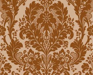 A.S. Création papier peint «Baroque, marron, métallique» 327501