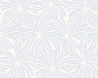 Esprit Home Wallpaper «Flowers, Blue, Cream, White» 327592