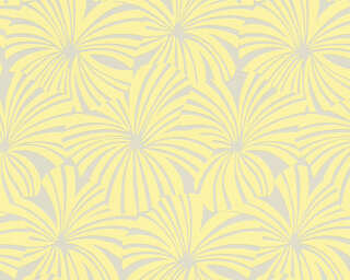 Esprit Home Wallpaper «Flowers, Beige, Yellow» 327593
