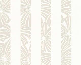 Esprit Home Wallpaper «Stripes, Cream, Grey» 327601