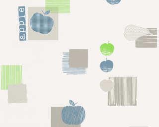 A.S. Création Обои «Деревенский стиль, Зеленые, Серыe, Синие» 327622