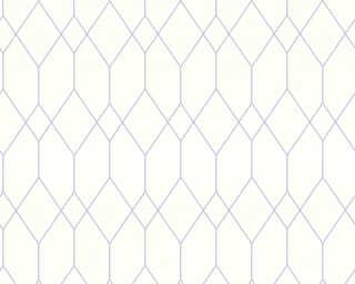 Esprit Home Обои «Графика, Белые, Фиолетовые» 327923