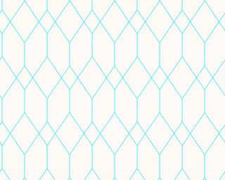 Esprit Home Обои «Графика, Белые, Синие» 327924