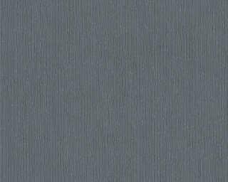A.S. Création papier peint «Uni, gris, métallique, noir» 328055