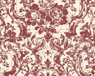 A.S. Création Wallpaper «Baroque, Cream, Gold, Metallic, Red» 328315