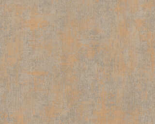 A.S. Création Wallpaper «Uni, Brown, Gold, Metallic» 328815