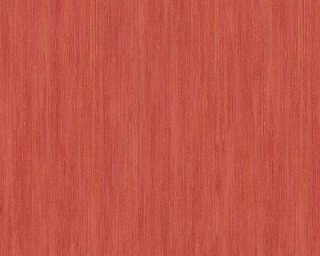 A.S. Création papier peint «Uni, métallique, rouge» 328822