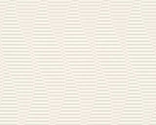 A.S. Création Tapete «Grafik, 3D, Grau, Metallics, Weiß» 329821
