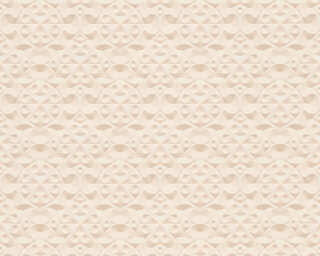 A.S. Création Wallpaper «Graphics, 3D, Beige, Metallic» 329832