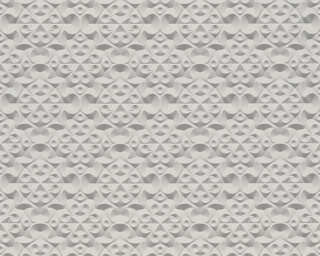 A.S. Création Wallpaper «Graphics, 3D, Grey, Metallic» 329833