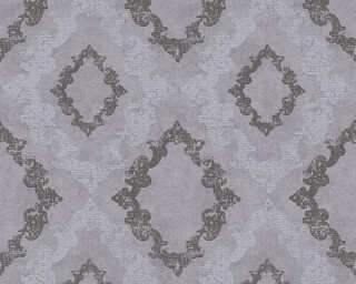A.S. Création Wallpaper «Cottage, Grey, Metallic» 329894