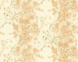 ORIGINALS Wallpaper «Cottage, Floral, Beige, Cream, Gold, Metallic» 329951
