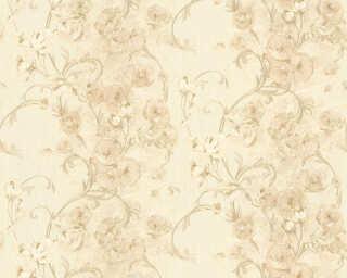 ORIGINALS Tapete «Landhaus, Floral, Beige, Creme, Gold, Metallics» 329954