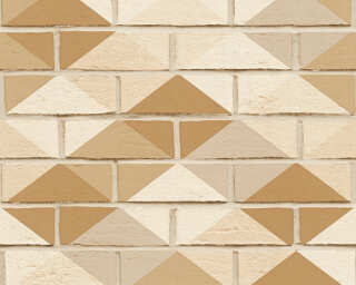 A.S. Création Wallpaper «Stone, Beige, Brown, Cream» 330882