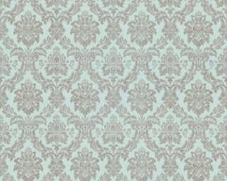 ORIGINALS Wallpaper «Fabric, Beige, Green, Metallic, Turquoise» 333234