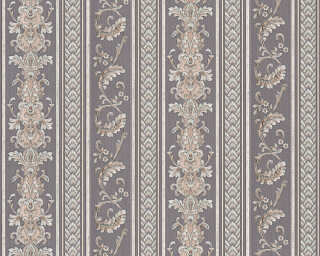 A.S. Création Wallpaper «Stripes, Black, Grey» 335475