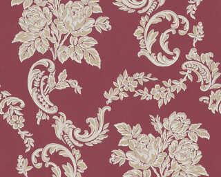 A.S. Création Tapete «Blumen, Beige, Gold, Metallics, Rot» 338674