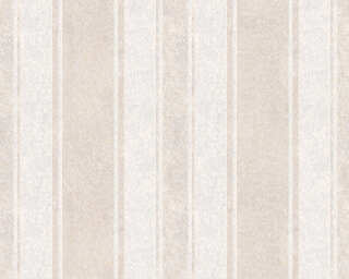 Jette Wallpaper «Stripes, Beige, Brown, Gold, Metallic» 339255