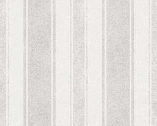 Jette Wallpaper «Stripes, Brown, Grey, Metallic» 339256
