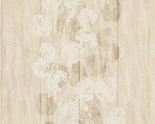 Brigitte Home Wallpaper «Wood, Beige, Metallic» 339264