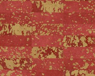 Private Walls Обои «Под плитку, Золото, Красные, Металлик» 340621
