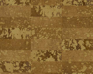 Private Walls Обои «Под плитку, Золото, Коричневыe, Металлик» 340625
