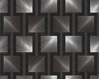 A.S. Création Wallpaper «Graphics, Black, Grey» 340681