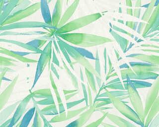 A.S. Création Обои «Джунгли, Бирюзовые, Зеленые, Синие» 341251