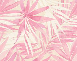 A.S. Création Обои «Джунгли, Бежевые, Белые, Розовые» 341253