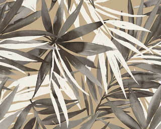 A.S. Création Wallpaper «Jungle, Beige, Brown, White» 341254