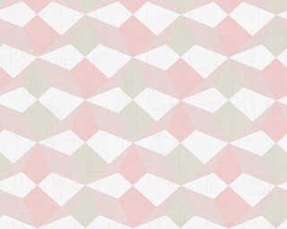 A.S. Création Wallpaper «Graphics, Beige, Metallic, Pink» 341334