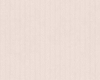 A.S. Création Wallpaper «Stripes, Beige, Metallic, White» 341343