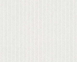 A.S. Création Обои «Полосы, Белые, Металлик, Серебро, Серыe» 341344