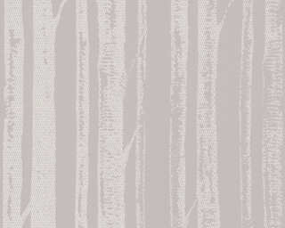 A.S. Création Wallpaper «Cottage, Grey, Metallic» 341351